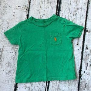 Ralph Lauren 12M Boy's Green T-shirt